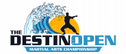 Destin Open Karate Tournament Logo
